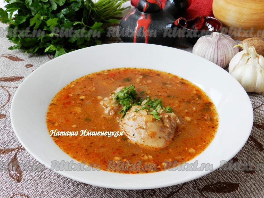 острый рисовый супчик