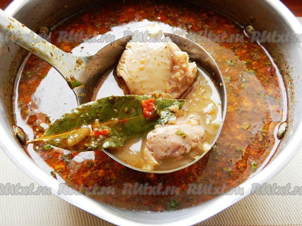 суп рецепт харчо из баранин