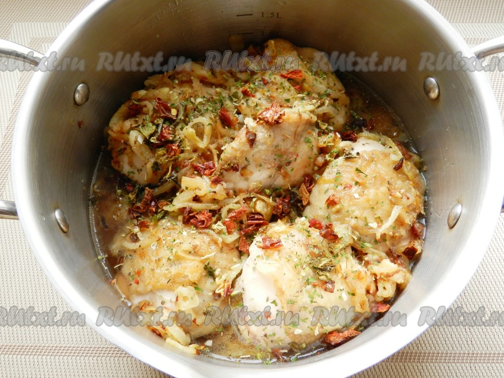 Самые вкусные и изысканные рецепты: курица в вине белом