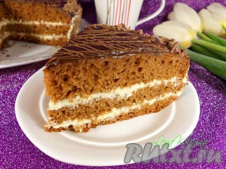 рецепты тортов прага в мультиварке поларис