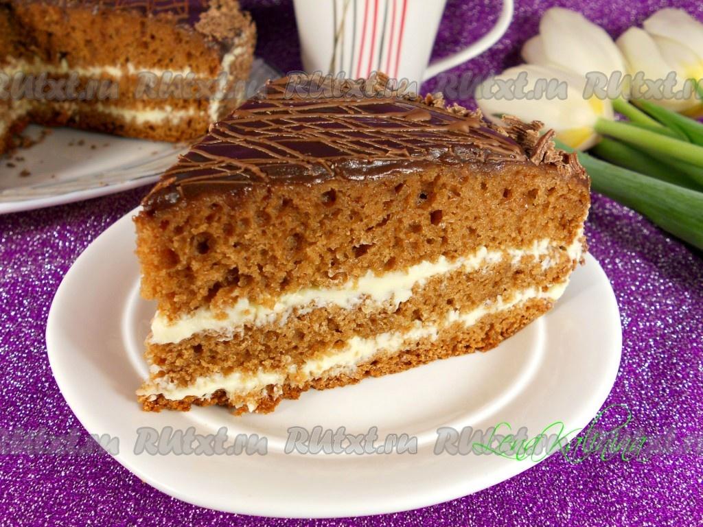 Торт прага рецепт в мультиварке