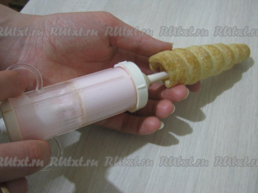 Крем для кондитерского шприца рецепт с фото