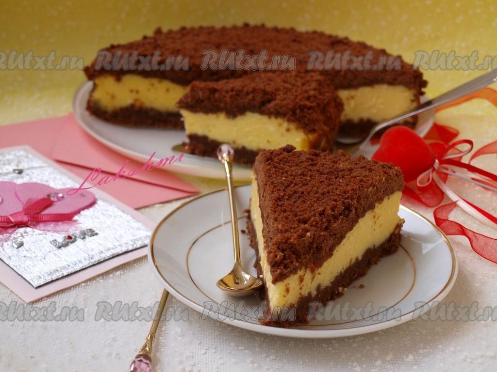 284Шоколадно творожный торт пошагово с