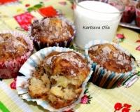Нежный яблочный кекс с крошкой - рецепт пошаговый с фото