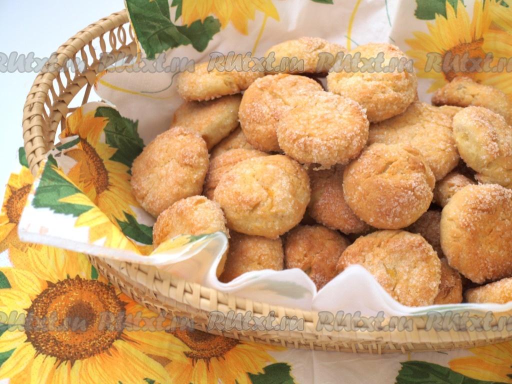 творожное печенье с имбирем рецепт