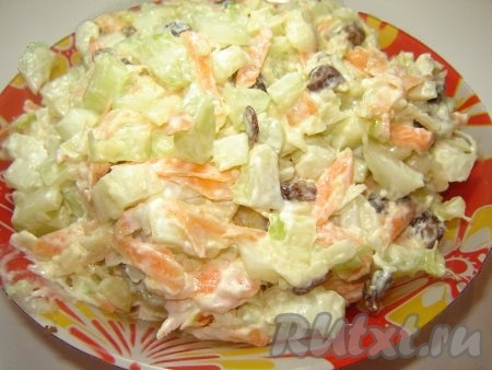 Блюда из стебля сельдерея