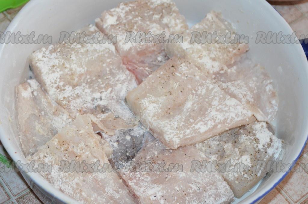 Треска в духовке пошаговый рецепт