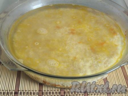 рецепт ленивого риса в духовке