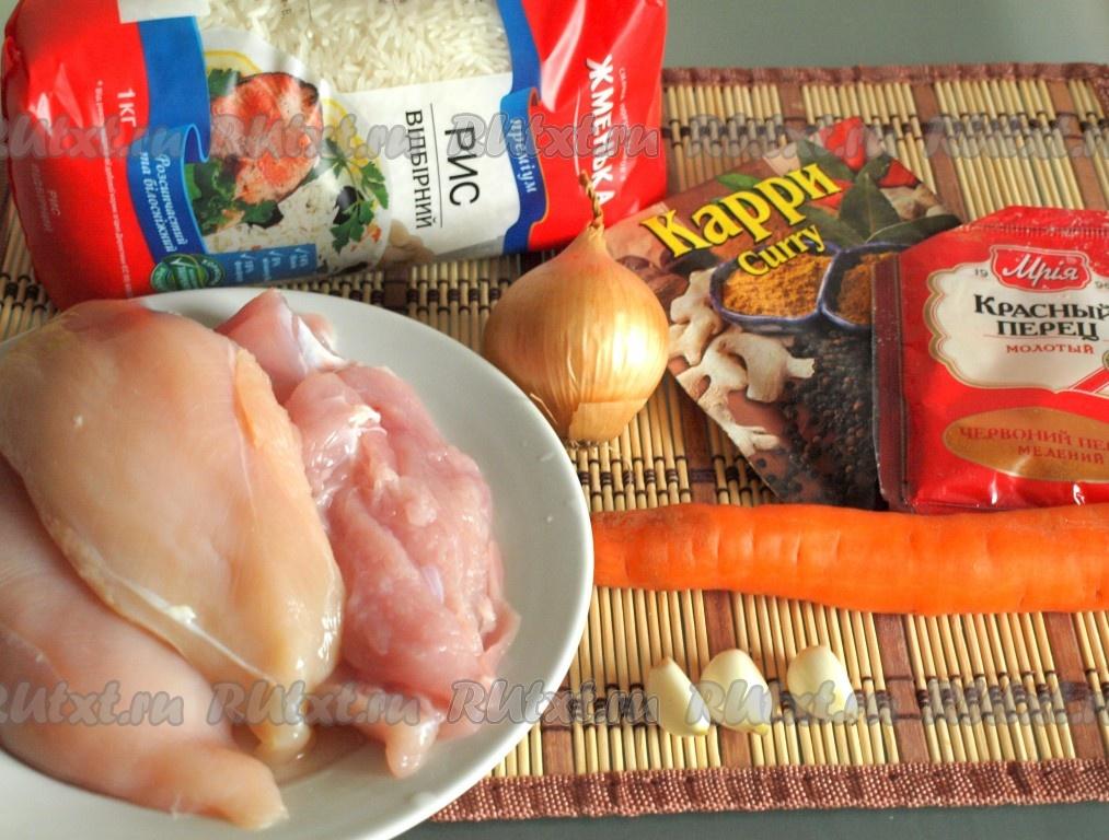 пшено в духовке с курицей рецепт с фото