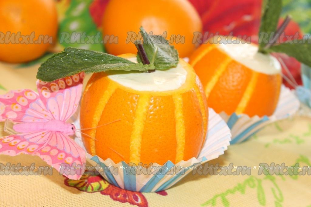 рецепт десерта с клубникой желатин и сметана