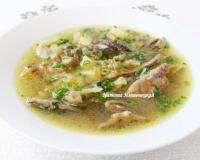 рецепты супов с рисом и колбасой фото