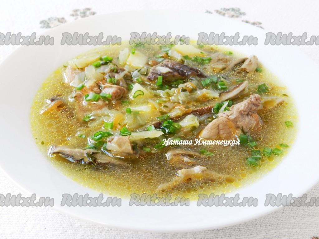 мясной суп без картофеля рецепт