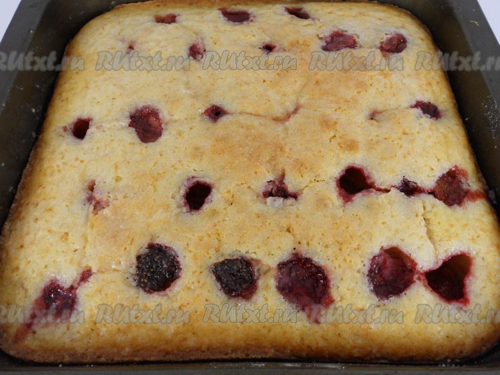 Пирог с черникой рецепт пошагово замороженной 118