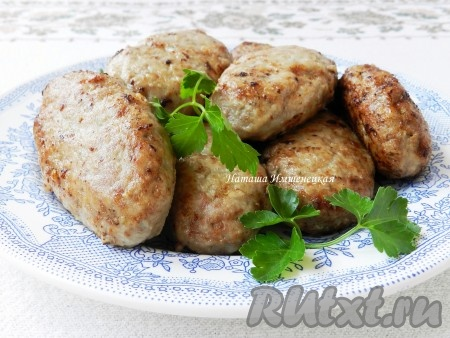 Котлеты из кабачков - рецепты с фото на Повар.ру (25 ...