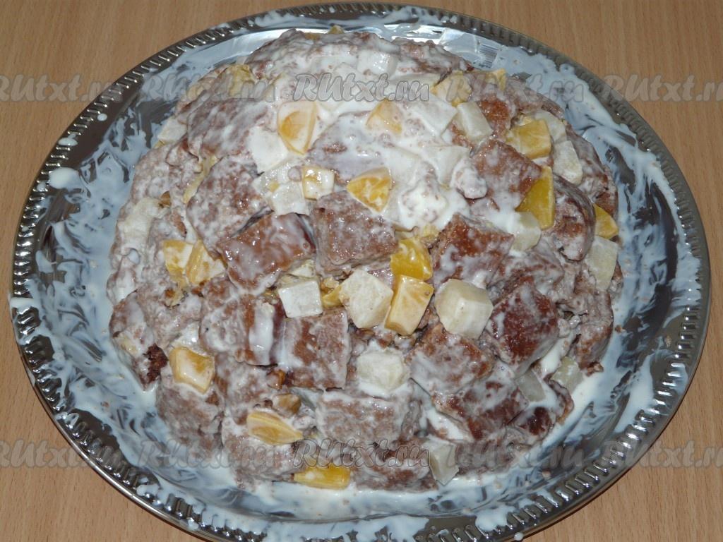 рецепт домашнего торта в духовке