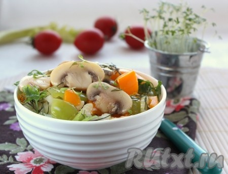 салат с шампиньонами рецепт с яйцом