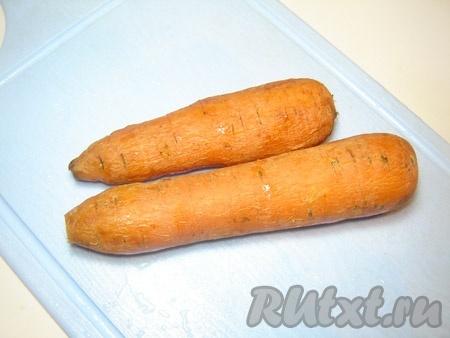 Морковь сварить