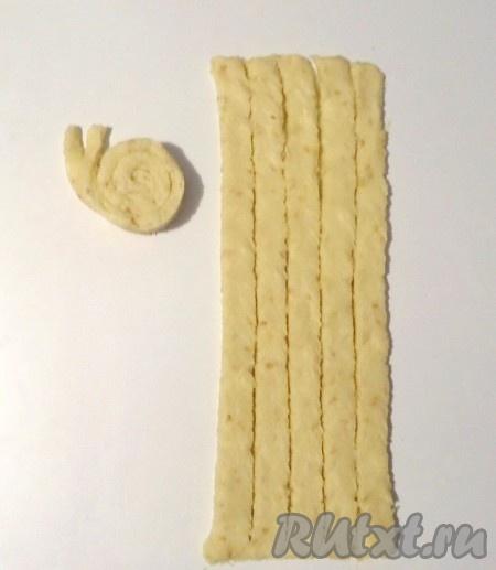 Сырное печенье Улитка - рецепт пошаговый с фото