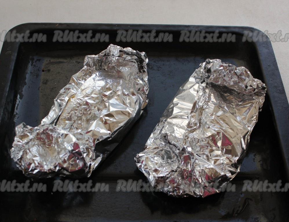 стейки форели в духовке рецепты видео
