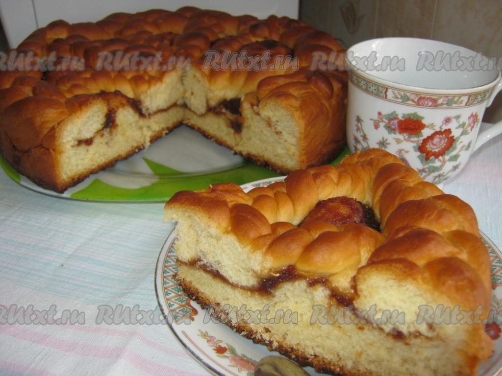 пирог с повидлом рецепт