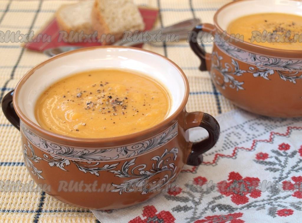 рецепт супа пюре из красной чечевицы