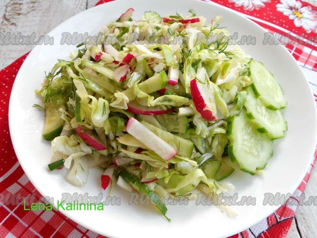 очень вкусные салаты с растительным маслом
