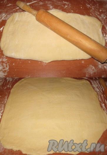 слоеное тесто с сосиской в духовке рецепт