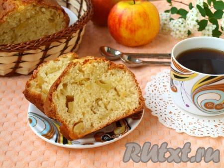 Готовый вкусный, нежный манник полностью остудить, затем нарезать на порции. Подавать к чаю или кофе.
