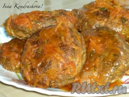 томатная подлива из грибов рецепт #6