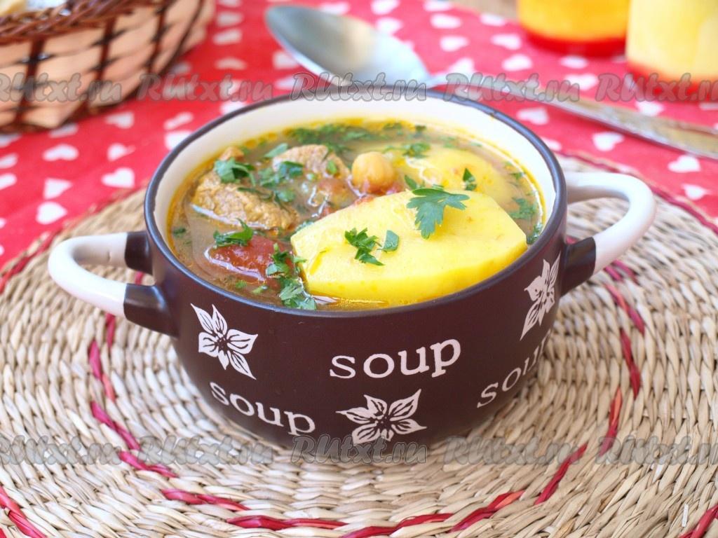 Супы из говядины рецепты простые и