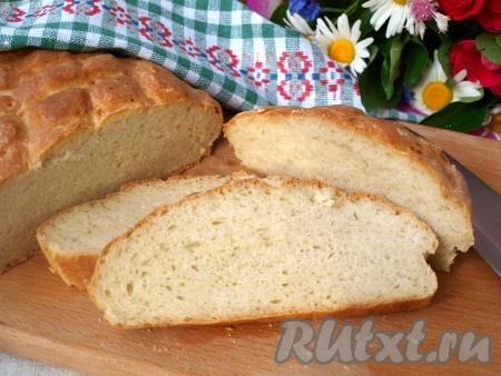 Как сделать тесто на домашний хлеб