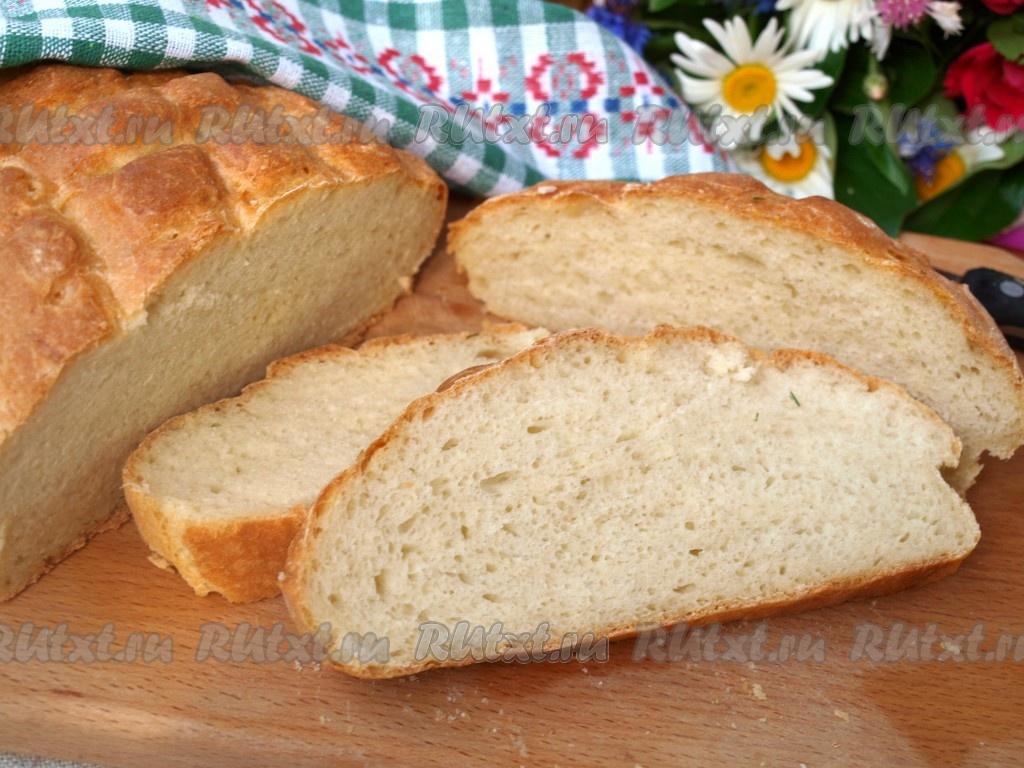 Хлеб в духовке быстро и просто