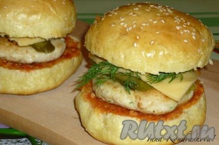 вкусные котлеты для гамбургеров рецепт