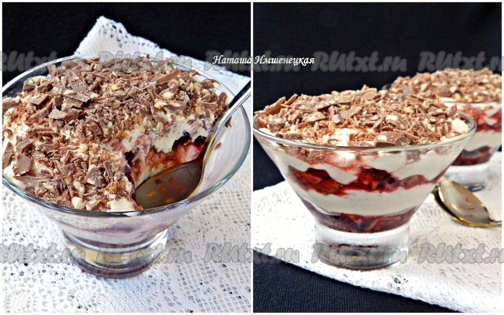 Десерты из вишни рецепты фото