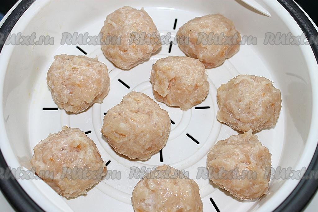куриные котлеты рубленные на пару диетические рецепт с фото