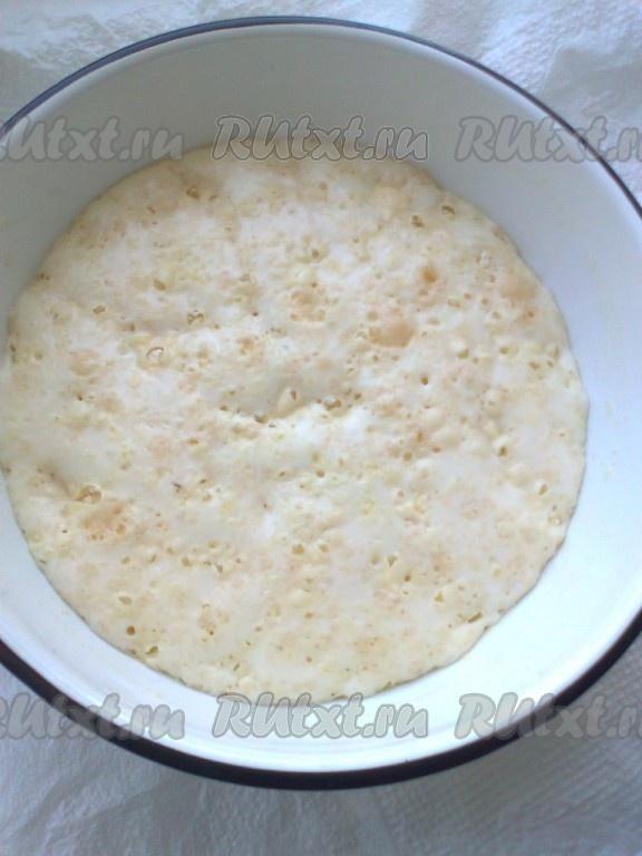рецепт опары для пирожков