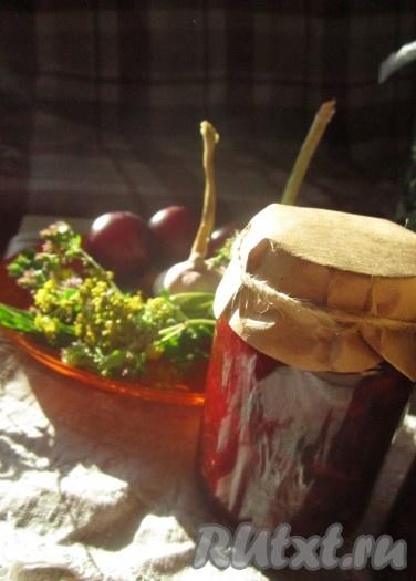 соус из кабачков к мясу на зиму рецепт