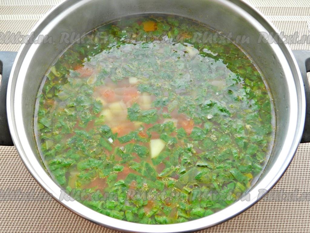 овощной суп при геморрое рецепт