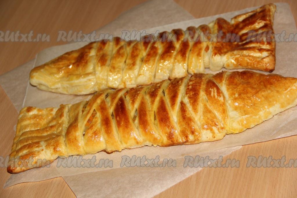 Пирог с рыбой - кулинарный рецепт с фото Чудо-Повар