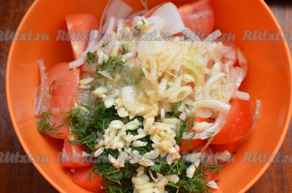 рецепт зеленые помидоры быстрого приготовления рецепт с фото