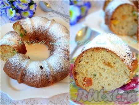Пирог с цукатами рецепт с фото