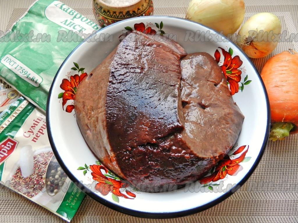 как приготовить свиную печень для начинки для пирожков