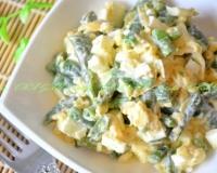 Рецепт салата из зеленой фасоли 155