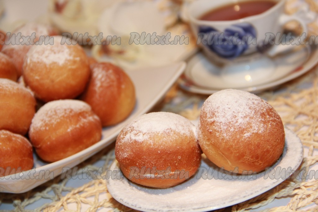 Как сделать пончики с начинкой фото 231