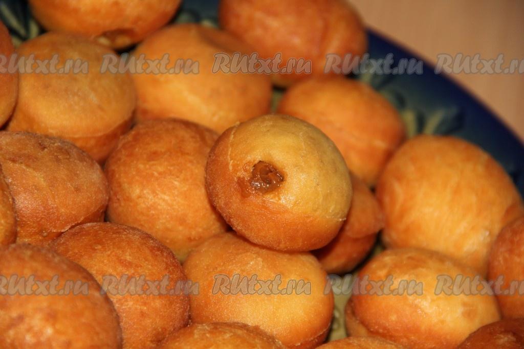 Как сделать пончики с начинкой фото 189