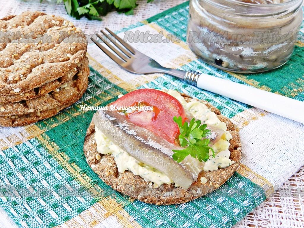 Блюда из соленой рыбой
