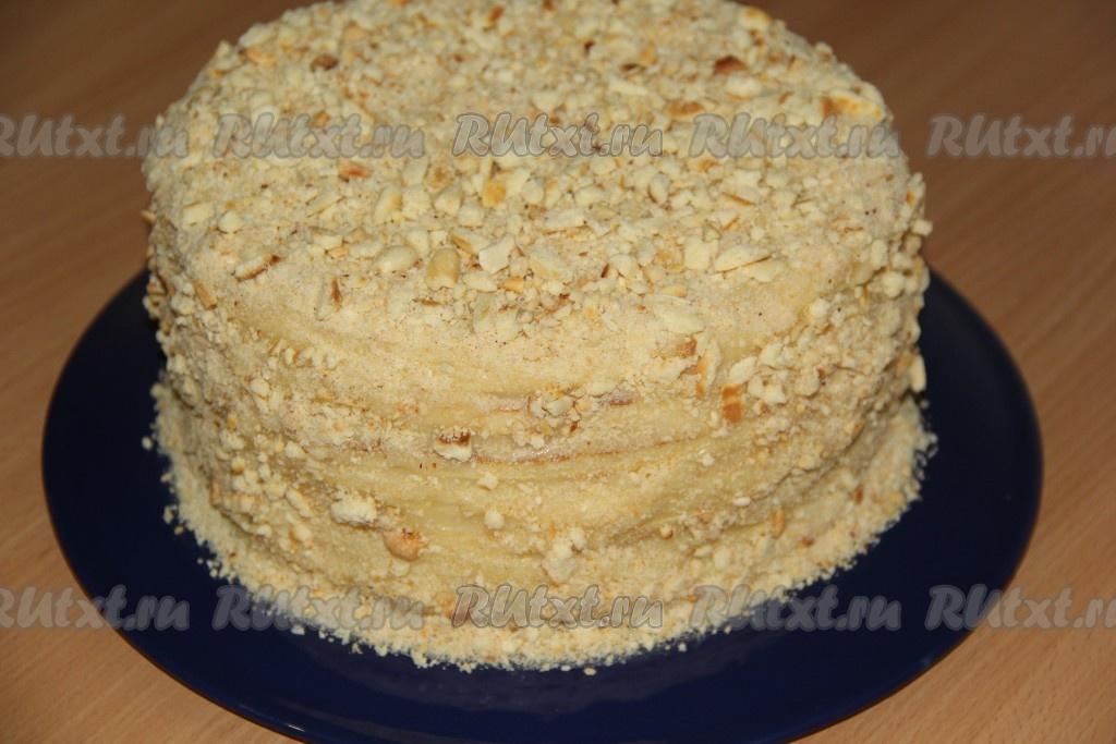 Ореховые стружка для торта