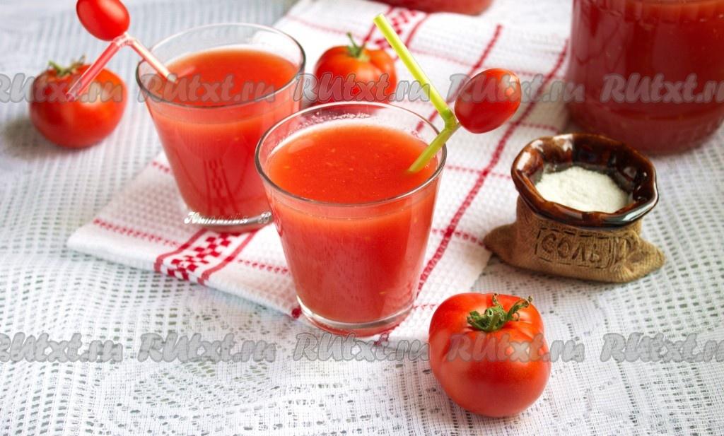 Как сделать томатный сок из помидоров в домашних условиях 60