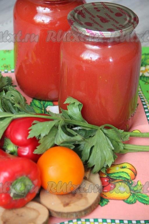 Как сделать томатный сок из помидоров в домашних условиях 93