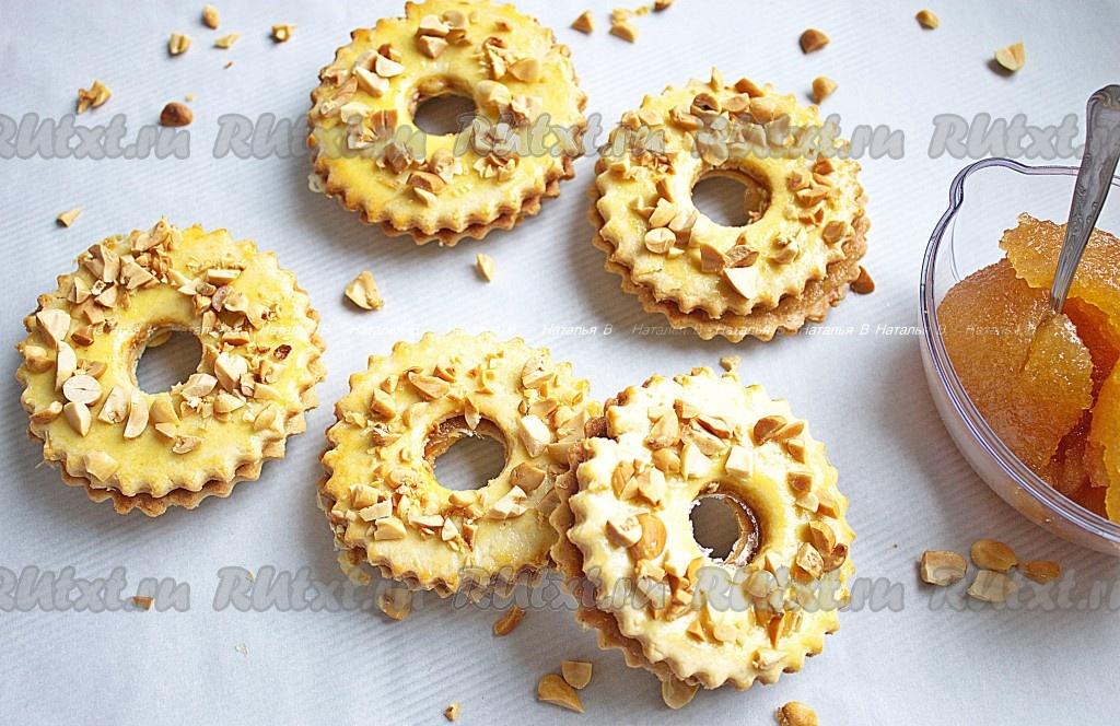 Песочное печенье с глазурью рецепт с фото